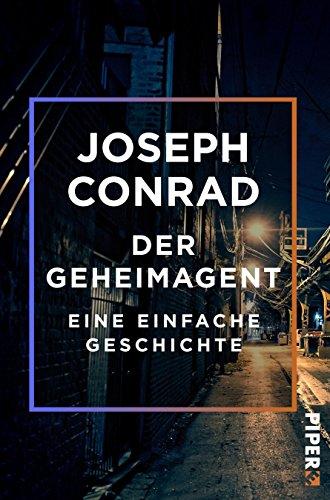 Buchseite und Rezensionen zu 'Der Geheimagent: Eine einfache Geschichte' von Joseph Conrad