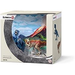 Schleich - T-rex y Velocirráptor, set pequeño (42216)