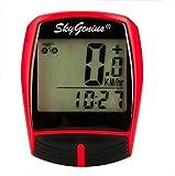 Best Bike Speedometers - Wireless Cycle Computer SkyGenius Multifunction Waterproof Bike Speedometer Review