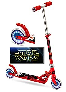 TROTTINETTE PATINETTE ROUES LUMINEUSES STAR WARS DARK VADOR