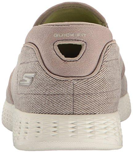 Skechers Go Glide-Victorious, Sneaker Infilare Uomo Verde (Khaki)