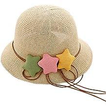 1d54e671fe73c Black Temptation Sombrero de Paja de los niños Sombrero de los bebés  Sombrero del Sombrero de