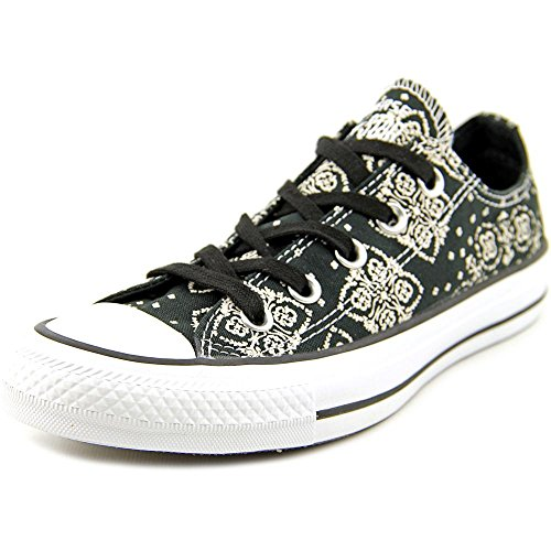 Converse Chuck Taylor All Star Print OX Toile Baskets Black