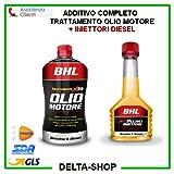 Additif complet pour traitement d'huile moteur + nettoyant pour injecteurs diesel