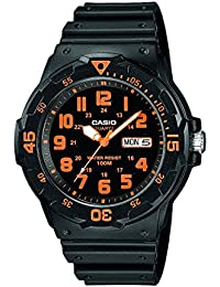 Casio Collection Herrenuhr Analog Quarz mit Resinarmband – MRW-200H-4BVEF