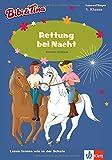 Bibi & Tina - Rettung bei Nacht: Lesen lernen - 1. Klasse ab 6 Jahren (A5 Lese-Heft) (Lesen lernen mit Bibi und Tina)