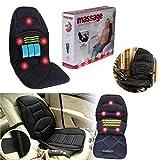 Best Car Massagers - TPL Car Seat Massage Back Massager Adjustable Home Review