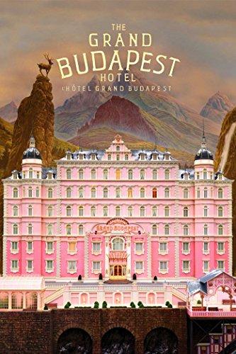 The Grand Budapest Hotel 24x36 inch / 60x90 cm Plastic Poster Affiche en Plastique Etanche | Anti-Fade | Pouvez utiliser sur l'extérieur/Jardin/Toilettes CTJ-7B94/22FB