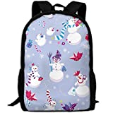 best& Stylish New Year Christmas Holiday Laptop Backpack School Backpack Bookbags College Bags Daypack