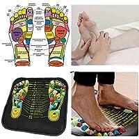 BaZhaHei cojín conveniente del pie del masaje de la terapia física del acupuntura del cojín del
