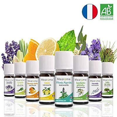 Aceites Esenciales Aromaterapia Set