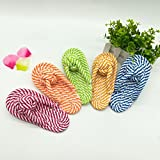 Dog Rope Toy Cotton Durable Chew Toys For Teething Chewing Puppy Small Medium Dogs 1 Piece (Slipper)