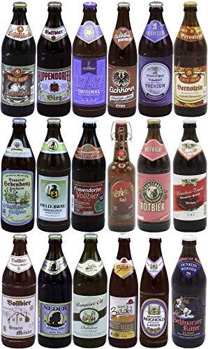 Bierpaket mit 18 ausgewählten fränkischen Bieren I Das Bierset Franken (18 x 0,5l) von Bierwohl