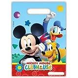 Mickey Mouse Clubhouse Fiesta - Playful Mickey Regalo Fiesta Bolsas x 6