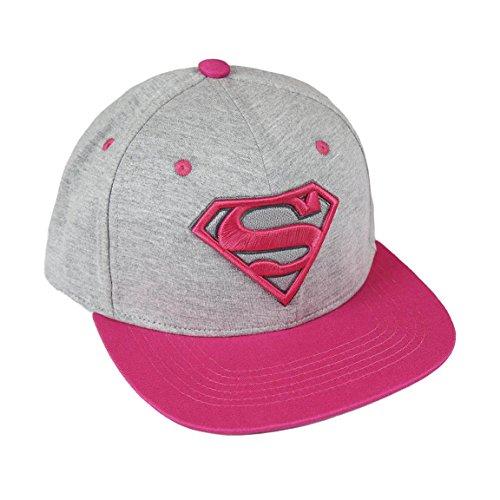 Preisvergleich Produktbild DC Comics Premium Cap Pink Superman Logo Cerda Caps tzen