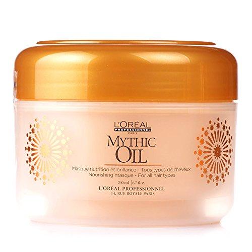 L'Oréal Professionnel - Masque Cheveux Nutrition et Brillance - Mythic Oil - 200 ml