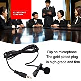Captcha Lavalier Noise Cancelling Mini 3.5mm Jack Microphone With S530 Stylish Mini Wireless Bluetooth In-Ear V4.0 Handfree