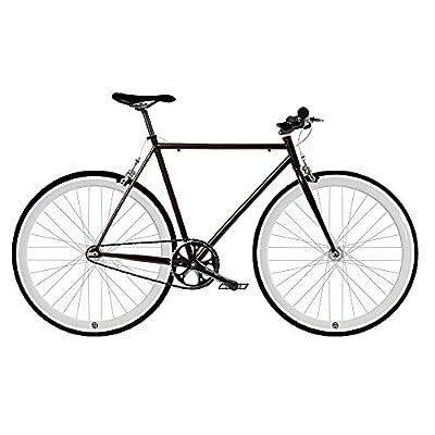 /Single Speed Fixie Fahrrad Fix 2White. monomarcha. Größe 53