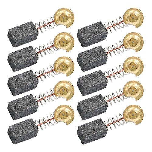 sourcingmap 5 Paare Ersatz 6,5 x 7,5 x 12,5 mm Motor Kohlebürsten für Elektrowerkzeuge 12,5 A Motor