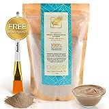 Simply Bioty - GRATIS GESCHENK - Ghassoul Premium marokkanische Lavaerde - Vegan & Bio Gesichtsmaske, Wascherde - Mineralische Tonerde Haarwäsche - 100% natürliches Peeling 1kg