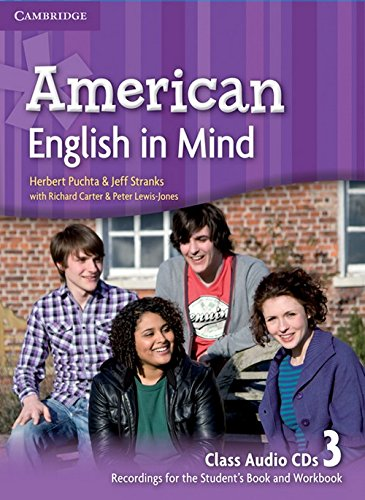 American English in Mind Level 3 Class Audio CDs (3) (Class CD)