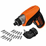 BLACK+DECKER CS3652LCAT-QW Tournevis sans fil - 3,6V - 1,5 Ah - Lithium - 5,5 Nm-...
