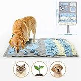 Schnüffelteppich für Hunde Schnüffelrasen Hund Schadstofffreies Hundespielzeug Fördert Natürliche Nahrungssuche