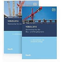 VOB/A + VOB/B 2016: Kommentare für die Bau- und Vergabepraxis Paket (Beuth Recht)