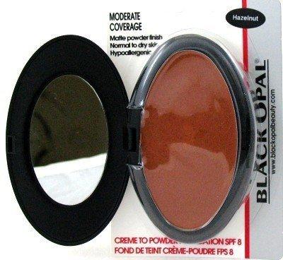Black Opal Crème To Powder Foundation Noisette (Lot de 3) with free Nail File (visage poudre)