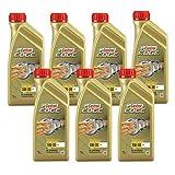 7x 1 L = 7 Liter Castrol Edge Titanium FST™ 5W-30 C3 Motor-Öl Motoren-Öl; Spezifikationen/Freigaben: ACEA C3; API SN/CF; BMW Longlife-04; dexos2®; MB-Freigabe 229.31/ 229.51; Renault RN 0700 / 0710; V