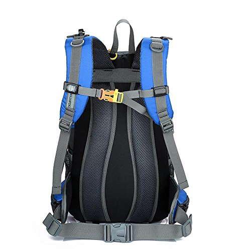 Outdoor-Paket Wild Camp Paket professionelle Bergsteigen Tasche Casual Rucksack Paar Tasche Schwarz