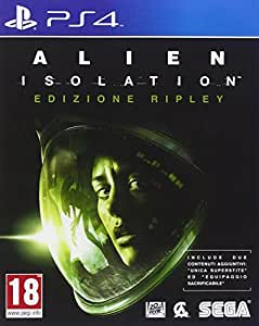 ps4 alien isolation ripley edition high tech. Black Bedroom Furniture Sets. Home Design Ideas