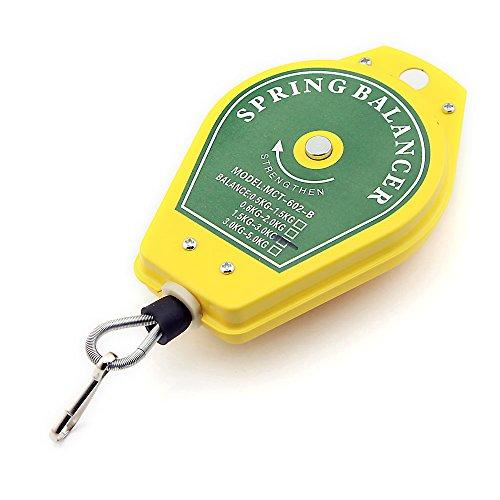 Equilibrador de herramienta Colgante, 1,5-3,0kg, muelle retráctil, para línea de montaje, ()