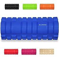 Rodillo de espuma KG | PHYSIO con Puntos Gatillo para Masaje Muscular Diseño en Cuadrícula! – 33cm x 13cm