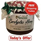 Farm Naturelle-1 Eucalyptus Forest 100% Pure Raw Un-Processed Honey 400 Gms With Smart Paper Bag For Gifting (...