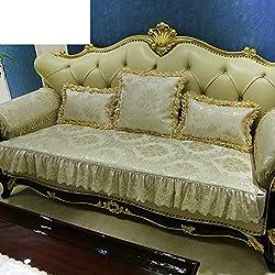Coussin de canapé Serviette de canapé simple et moderne Serviette de canapé générale Four Seasons Écharpe en similicuir Coussin Tout inclus Coussin de couverture-B 110 x 210 cm (43 x 83 po)