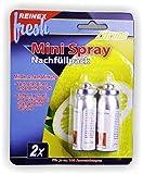 Mini Spray Nachfüllpack 2x Zitrone Lufterfrischerspray Duftspray