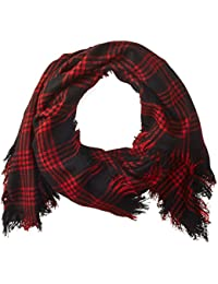 David & Young Women's Square Blanket Scarf