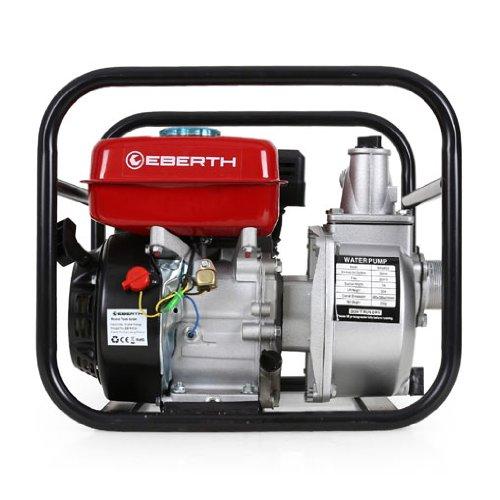 EBERTH 5,5 PS 2 Zoll Wasserpumpe Benzin Motor Pumpe - 5