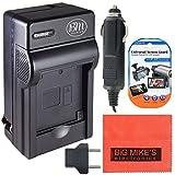 CGA-S006 Battery Charger for Panasonic Lumix DMC-FZ7 DMC-FZ8 DMC-FZ18 DMC-FZ28 DMC-FZ30 DMC-FZ35 DMC-FZ50 Digital Camera + More!!