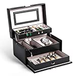 Jewellery Box, Homever Jewellery Boxes for Women and Girls, The Best Gift to Grandma, Mom, Girlfriend or Daughter