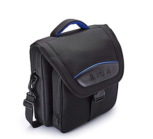 BigBen offziell Lizenzierte Transporttasche für Playstation 4 / Slim/Pro | Schwarz