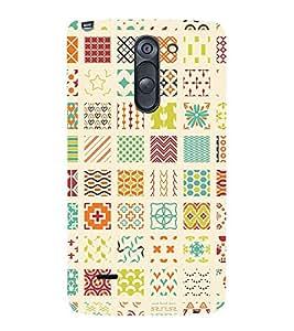 Muli Shape Pattern 3D Hard Polycarbonate Designer Back Case Cover for LG G3 Stylus :: LG G3 Stylus D690N :: LG G3 Stylus D690