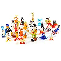Handblown Collectable Glass Animal Miniature Figurines - Mix of 50 pieces - Size Mini