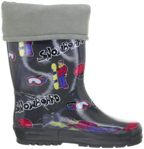 Jovem Cinza Botas Borracha cinza Snowboard Beck 457 qRtx6pt