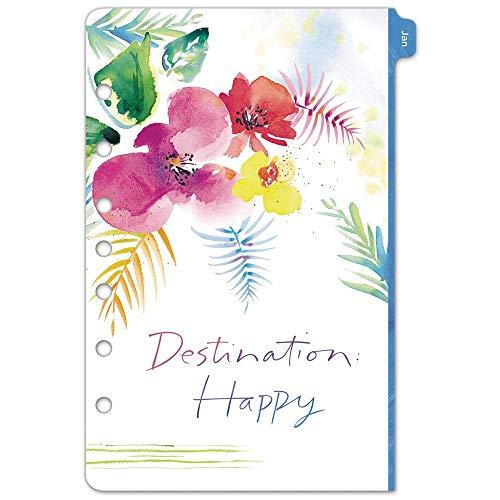 Kathy Davis 52122 Tagesplaner/Terminbuch für 2020, 2 Seiten pro Woche, 14 x 21 cm, Schreibtischgröße 4, lose Blätter