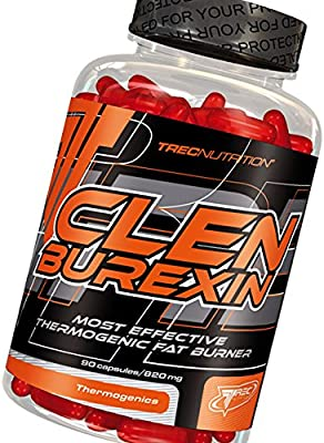 CLENBUREXIN 180 cápsulas - Quemadores y peso pérdida de grasa termogénico - Trec Nutrition - más eficaces
