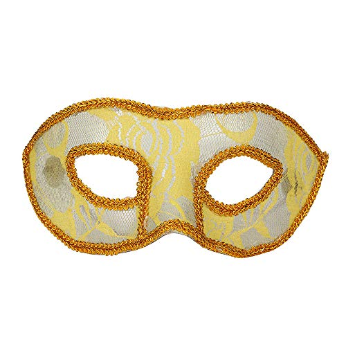Kostüm Venezianischen Frauen Maskerade - Maskenball Masken Damen, QHJ Halloween Kostüm Frauen Masken Venezianische Maskerade Prom Party Sexy Maske Weihnachtsfeier, Karneval, Cosplay-Party (D)