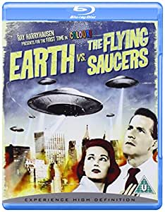 Earth vs. the Flying Saucers [Blu-ray] [1956] [Region Free]