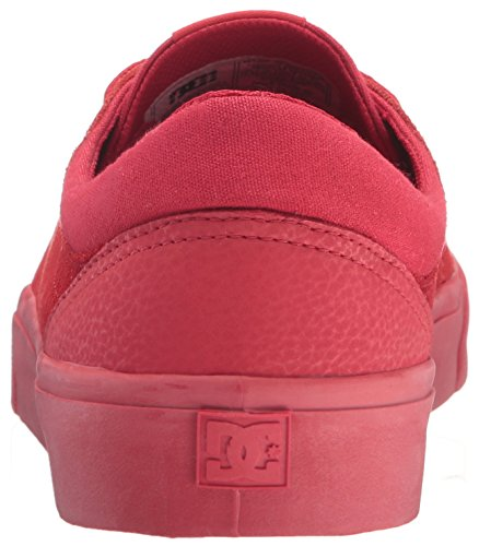 Dc Shoes Trase Sd, Sneaker Uomo Rouge Rouge